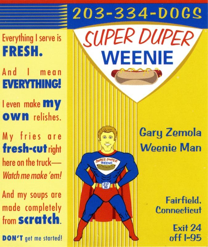 Super Duper Weenie Business Card