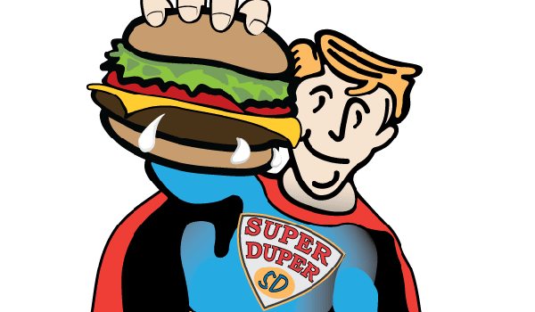 Super Duper Patty Wagon Illustration