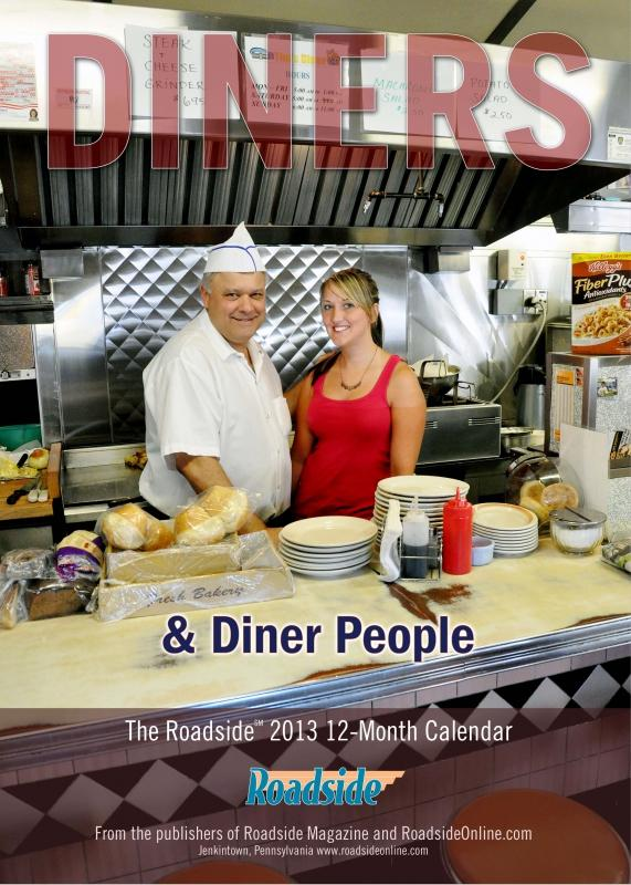 Diner People Calendar Cover