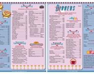 West Taghkanic Diner menu